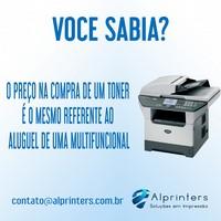 Alugar impressora multifuncional
