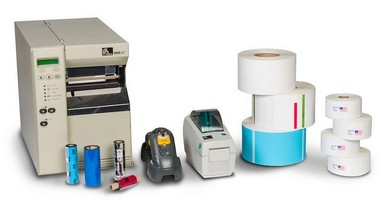 Impressão de etiquetas adesivas