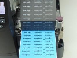 Impressão de etiquetas com dados variáveis