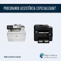 Manutenção de impressora HP